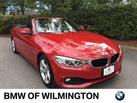 Certified Pre-Owned 2014 BMW 4 Series 428i Rear Wheel Drive Convertible
