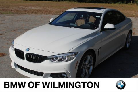 Pre-Owned 2017 BMW 4 Series 430i Rear Wheel Drive Coupe