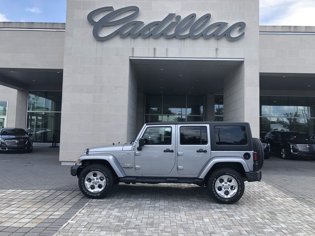 Great Pre Owned 2015 Jeep Wrangler Unlimited Sahara
