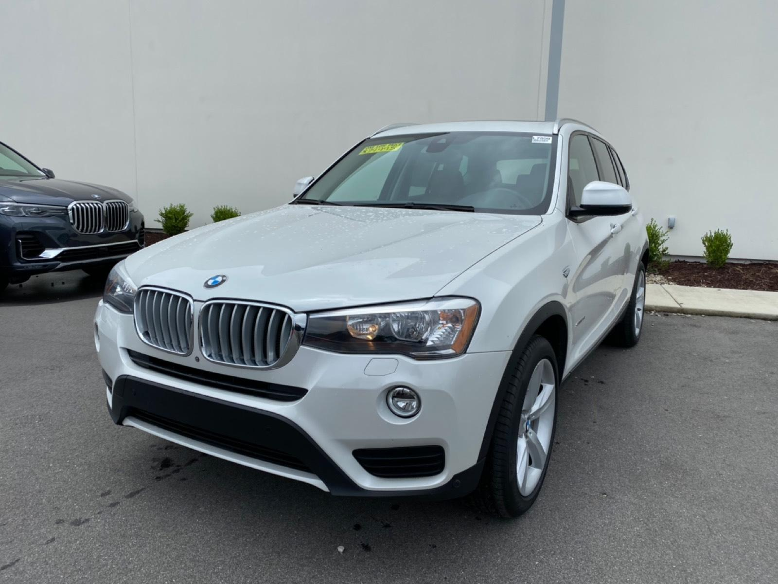 Certified Pre-Owned 2017 BMW X3 sDrive28i SAV