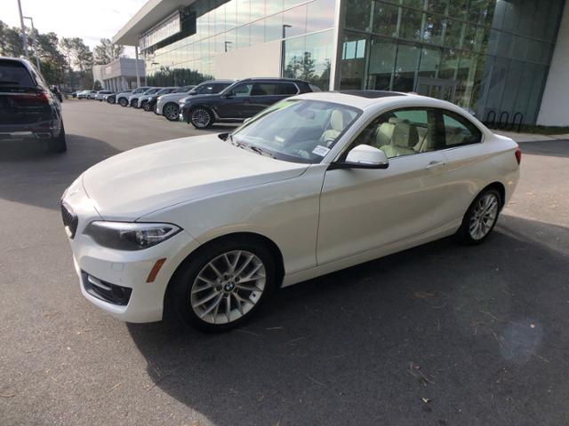 Certified Pre-Owned 2016 BMW 2 Series 2dr Cpe 228i RWD SULEV
