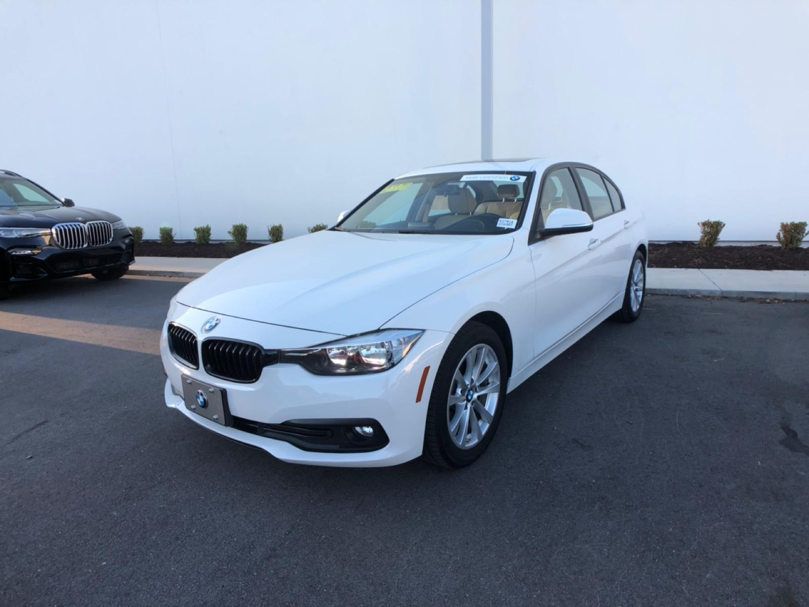 Certified Pre-Owned 2017 BMW 320i Sedan