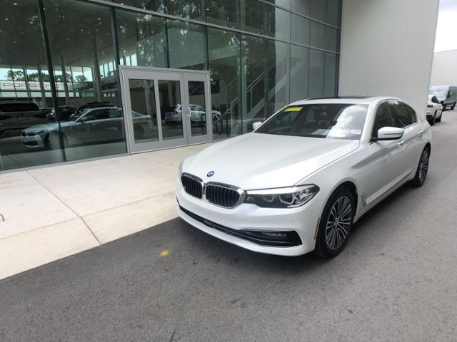 Certified Pre-Owned 2018 BMW 5 Series 530i Sedan
