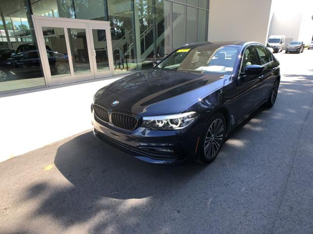 Certified Pre-Owned 2018 BMW 5 Series 540i Sedan