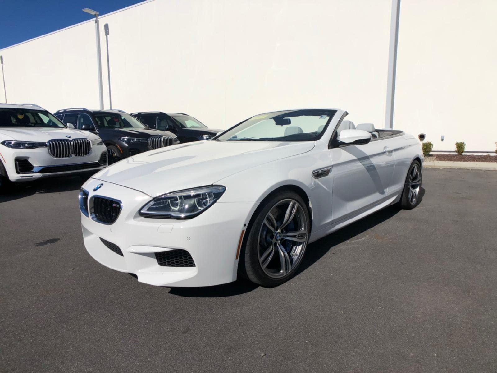 Pre-Owned 2018 BMW M6 Convertible Convertible