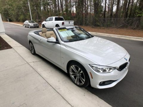 Certified Pre-Owned 2016 BMW 4 Series 2dr Conv 428i RWD SULEV