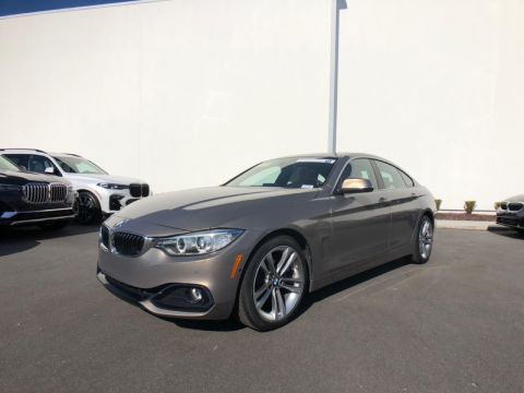 Certified Pre-Owned 2017 BMW 430i Sedan