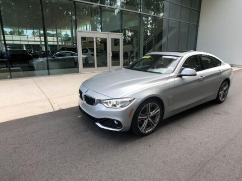 Certified Pre-Owned 2017 BMW 4 Series 430i Gran Coupe SULEV