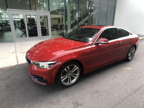 Certified Pre-Owned 2018 BMW 4 Series 430i Coupe