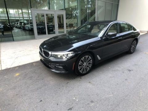 Certified Pre-Owned 2017 BMW 5 Series 530i Sedan